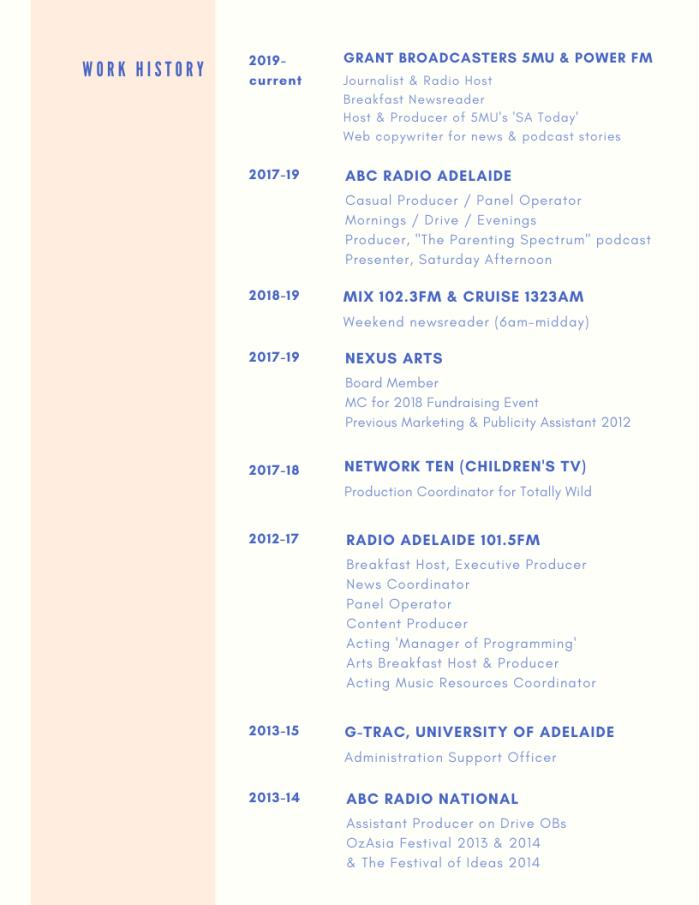 Media Resume 2020 PAGE 2
